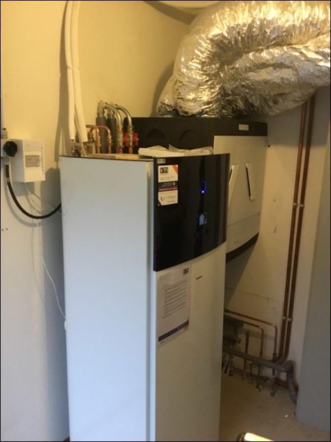 Installatie warmtepompen het grootslag