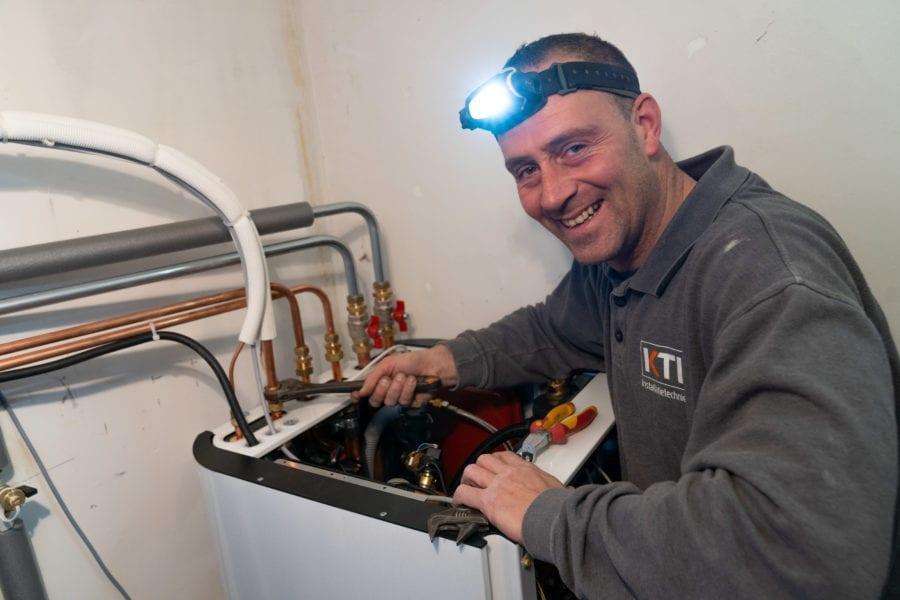Installatie warmtepompen grootslag